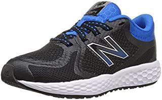 New Balance Kids' KJ720 Running Shoe Black/Blue 11.5 Medium US Little Kid [並行輸入品]