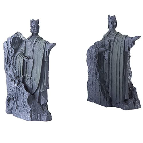 HUANMING Fermalibri Decorativo Fermalibri Fermalibri Statua di Gondor's Gate Vintage Art Fermalibri Fermalibri Home Office Library Studio 5.8 Pollici