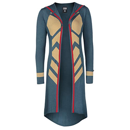 Musterbrand Marvel Ladies' Cardigan Donna The Wasp Blu XS