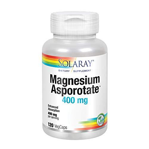Solaray | Magnesium Asporotate | 200mg | 120 vegane Kapseln | sojafrei