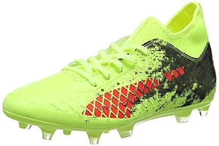 Puma Future 18.3 FG/AG, Zapatillas de Fútbol, Amarillo (Fizzy Yellow-Red Blast Black 01), 42 EU