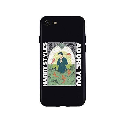 Moda Harry Styles Love On Tour 2020 Fine Lines Case Para iPhone 11 Pro XR 8 7 Plus Caso de Silicona Teléfono Caso Para iPhone XS X 6S-120289S1-Para iPhone 11