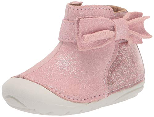 Stride Rite girls Soft Motion Genevieve Fashion Boot, Pink, 3.5 Infant US