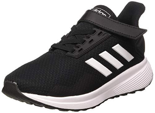 adidas Unisex-Kinder Duramo 9 Laufschuhe, Schwarz (Core Black/FTWR White/Core Black Core Black/FTWR White/Core Black), 35 EU