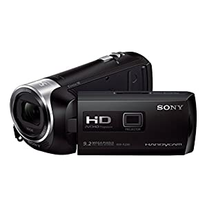 Sony PJ240E Full HD Camcorder with Built In Projector - Black