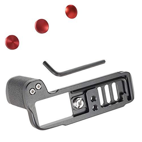 WEPOTO Fujifilm X-T10 X-T20 X-T30用ハンドグリップメタル CS-XT30