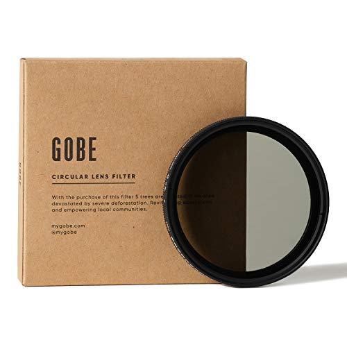 Gobe NDX 49 mm Variabler Graufilter ND2-400 ND Filter (1Peak)