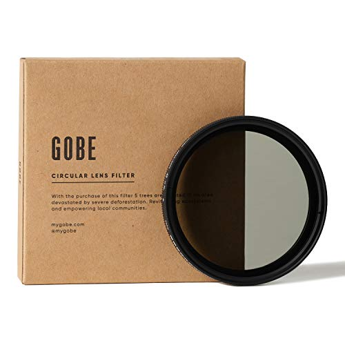 Gobe NDX 49 mm Variabler Graufilter ND2-400 ND Filter (1Peak)