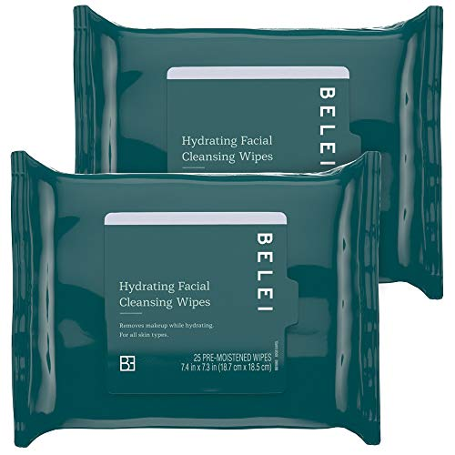 Belei Hydrating Facial Cleansing Wipes