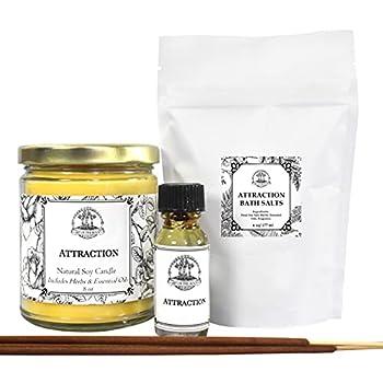 Attraction Spell Kit for Love Money Prosperity Abundance & Manifestation Wiccan Pagan Hoodoo Conjure