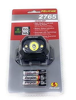 Pelican 027650-0103-110 Headlamp Black  LED Upgrade