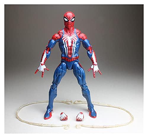YSDSPTG Figura de acción Legends Tony Pizza Scarlet 2099 Spider-Man Dead-Pool Hydra Action Figure Flow Collection Hot Venta (Color : Gamerverse)