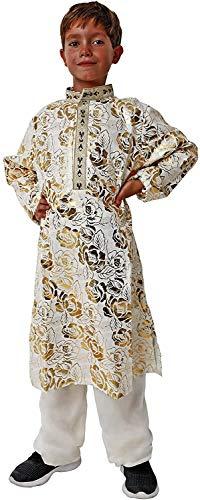Costumizate! Disfraz de Casaca hindú Talla 7-9 Especial para niños Fiestas de Disfraces o Carnaval