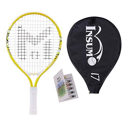 insum Kids Tennis Racket Starter Kit for Kids with Shoulder...