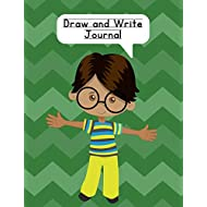 Draw and Write Journal: Composition NoteBook for Kids - Paper With Primary Lines and Half Blank Space for Drawing Pictures - 140 Pages - Boy Design #2
