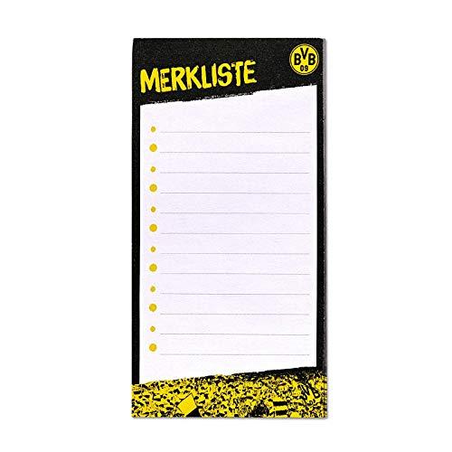 Borussia Dortmund, BVB-Magnet Einkaufsliste, Mehrfarbig, 0