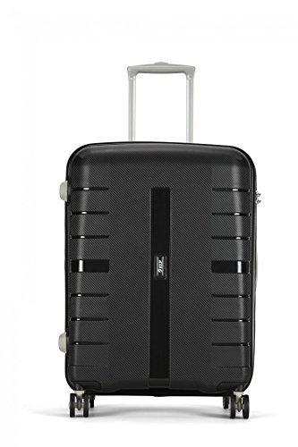 VIP Voyager 55 cms Polypropylene Black Hardsided Cabin Luggage (VOYGER55JBK)