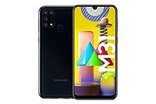 Samsung Galaxy M31 Android Smartphone ohne Vertrag, 4 Kameras, großer 6.000 mAh Akku, 6,4 Zoll Super AMOLED FHD+ Display, 64GB/6GB RAM, Handy in schwarz, deutsche Version exklusiv bei Amazon©Amazon
