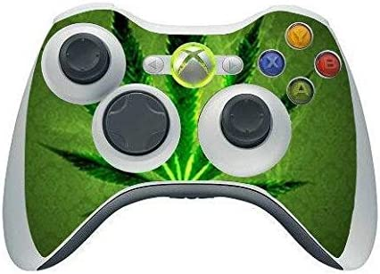 Homie Store Green Ranking TOP2 Super Special SALE held Weed Skin Sticker PS4 Controlle for Sony Cover