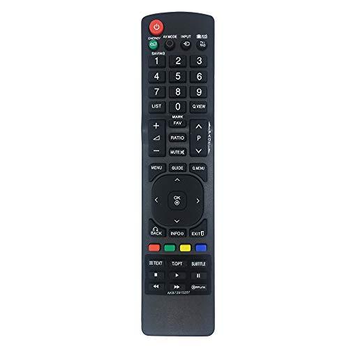 MYHGRC Remplacement Télécommande LG AKB72915207 pour telecommande Universelle LG Smart TV 37LD465 42LD420 32LD465 32LE3300 37LD450 - Aucune Configuration Requise Telecommande LG Universelle TV