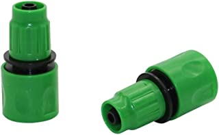 """YISENMIAO One-Way Quick Connector Agriculture 3/8"""" Straight Connector Garden Watering Hose Connector Gardening Tools And E..."""