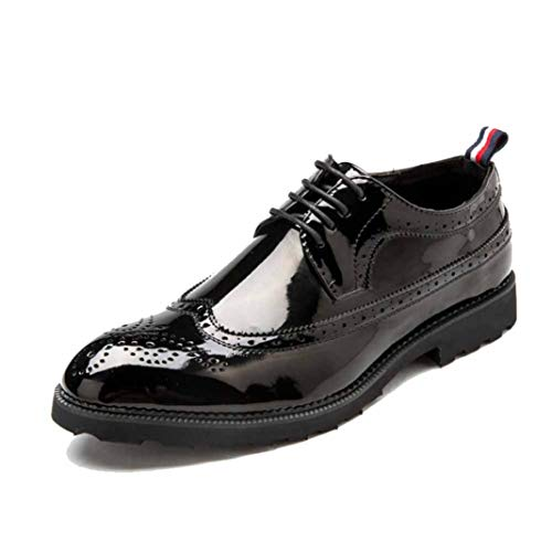 Zapatos de Boda para Hombres Zapatos de Brogue Formales para Hombres Zapatos...