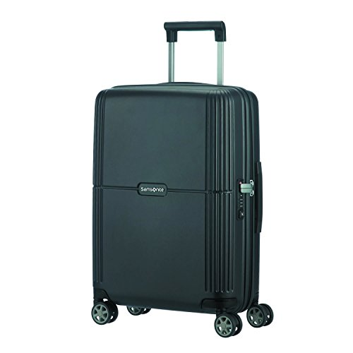 SAMSONITE Orfeo - Spinner 55/20 Equipaje de mano, 55 cm, 37 liters, Negro (Ink Black)