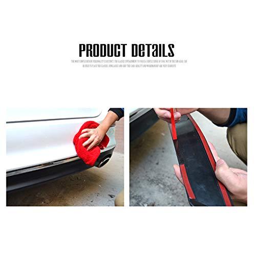 Flushzing 2 Stück Auto Auto Schwanz Gitter Simulation Auspuff Rohr Vent Doppel-Zylinder-dekorative Aufkleber
