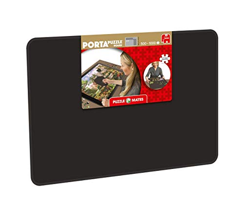 Jumbo- Puzzle Mates Portapuzz Board 1000 Piezas Rompecabezas Accesorio, Multicolor