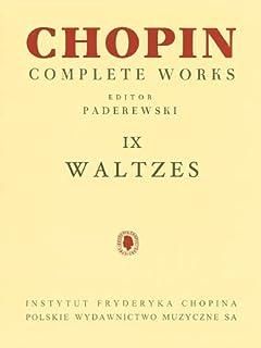 Waltzes: Chopin Complete Works Vol. IX