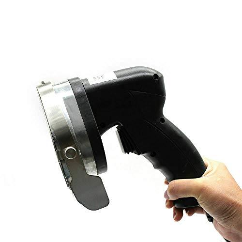 Cuchillo eléctrico para barbacoa de acero inoxidable, cortador de kebab eléctrico, ancho...