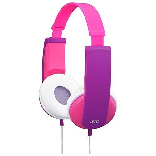 JVC Kids Headphones with Volume Limiter - Pink and Violet