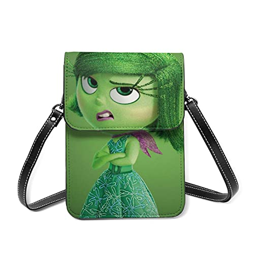 XCNGG Monedero pequeño para teléfono celular Cartoon InsideCell Phone Purse Small Crossbody Bag Women Leather Mini Cell Phone Pouch Shoulder Bag to Carry Dexterous Convenience with Adjustable Strap Wa