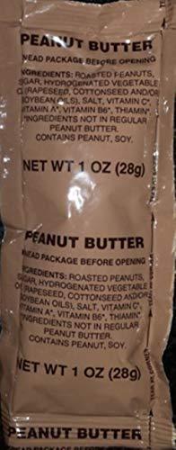 MRE Jams, Jellies and Peanut Butters / 20 (twenty) 1oz packets (Peanut Butter)