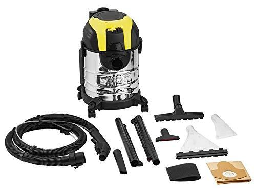 Parkside PWS 20 A1 - Aspirador de limpieza (1600 W, con manguera de pulverización integrada, aspiradora en seco en mojado)
