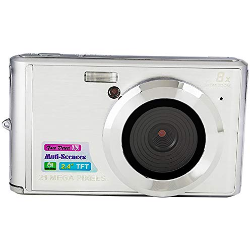 Buy Discount QOUP Digital Camera,2.4 inch HD Screen,720P HD,Mini Camera with 8X Digital Zoom,Simple ...