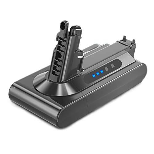 WTYPICS Batería de repuesto para aspiradora Dyson V10 SV12 969352-02 (3000 mAh, 25,2 V, ion de litio)