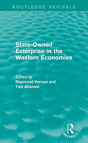 State-Owned Enterprise in the Western Economies (Routledge Revivals) (English Edition)