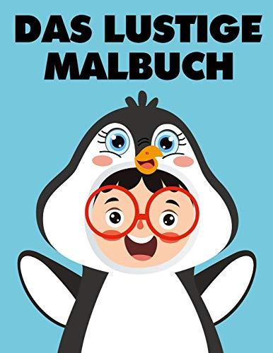 Das lustige Malbuch: 49 süße Kinder in Tierkostüme zum ausmalen und lachen | Perfekt als Geschenk für Kinder