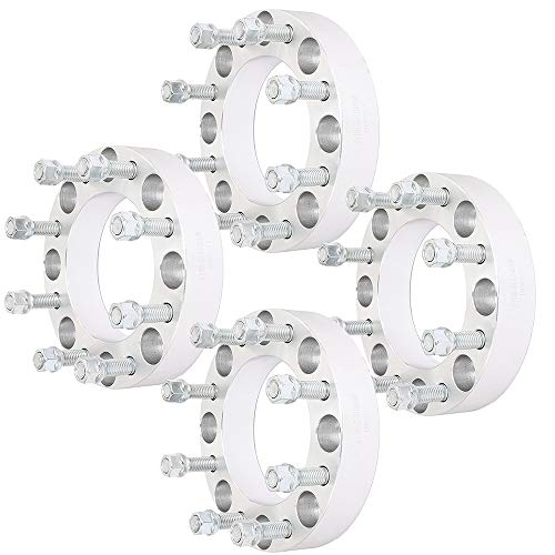 SCITOO 4X 8 Lug 1.5 inch 8x170mm Wheel Spacers 8x170 to 8x170 14x2 Studs 125mm Compatible with for F-ord F250 F350 Excursion