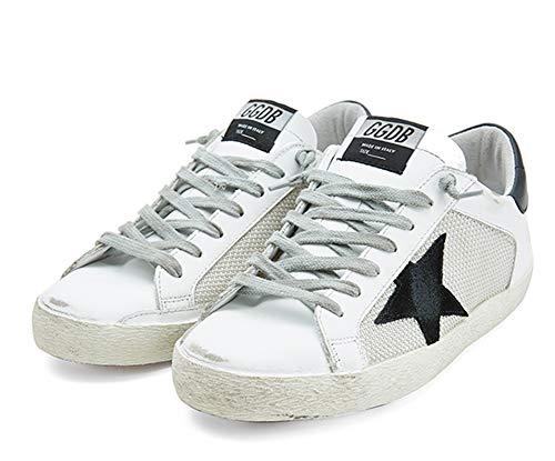Zapatillas de deporte de moda para hombre Zapatos casuales transpirables de malla, color, talla 38 2/3 EU