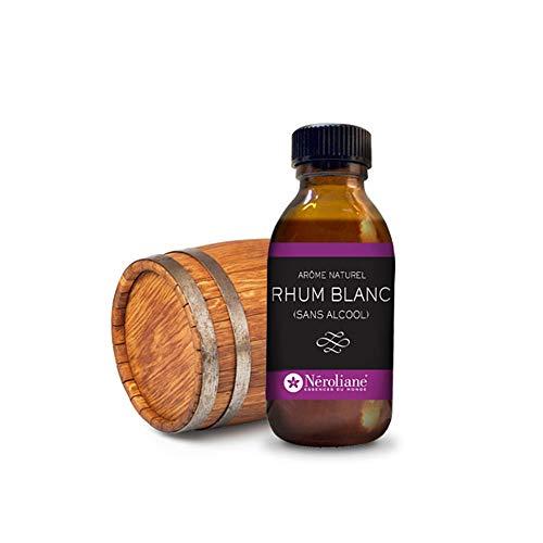 Arôme alimentaire naturel Rhum Blanc (sans alcool) 50ml