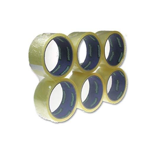 Ultratape Emballage ruban adhésif transparent 6pk 48 mm x 40 m