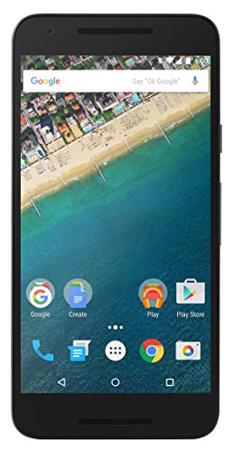 LG Nexus 5X - Smartphone Libre Android (5.2', 12.3 MP, 2 GB de RAM, 32 GB), Color Negro