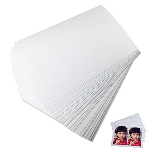Fotopapier 100 Blatt Papier Set Kompatibel Mit HP Brother Canon Epson Und Andere Farbtintenstrahldrucker 6 Zoll (4R)