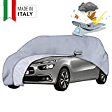 Walser Copertura Auto Premium Tutte Le previsioni del Tempo, Garage Auto Resistente alle intemperie, Garage Completo Impermeabile, Protezione Solare Auto, telone di Protezione UV Auto, Copertura Auto
