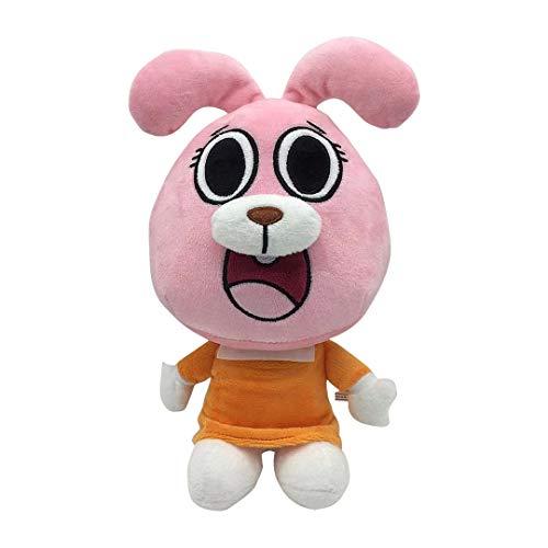 L&C The Amazing World of Gumball Darwin Plush Doll Cartoon Anais Rabbit Cat Plush Toy Niños Regalo De Cumpleaños 25cm