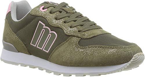 MTNG Attitude 69859, Zapatillas para Mujer, Verde (Soft Met/Mesh Kaky C47275), 39 EU