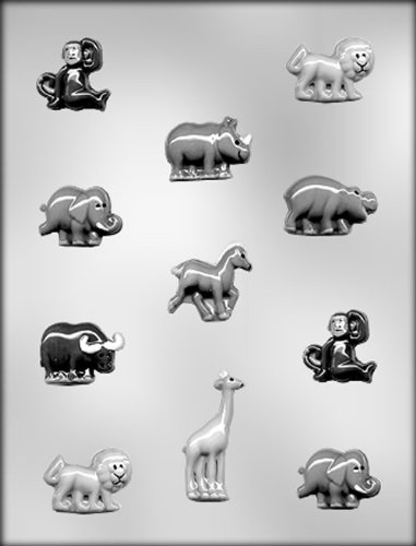 CK Products Zoo Animal Assortmentmt Chocolate Mold