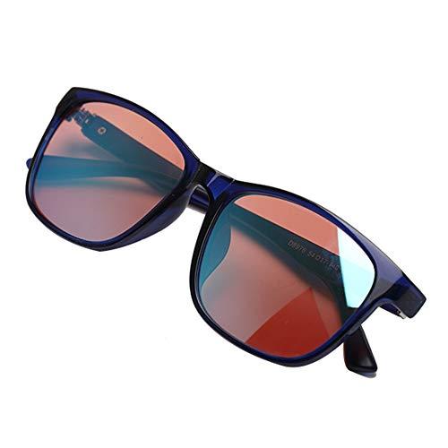 Aiyoudemutou Color Blind Korrekturbrillen for Rot Grün Color Blind Brille Brille Korrektur Männer Frauen Formatfüllend